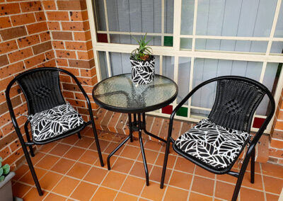 Outdoor Chair & Plant pot covers