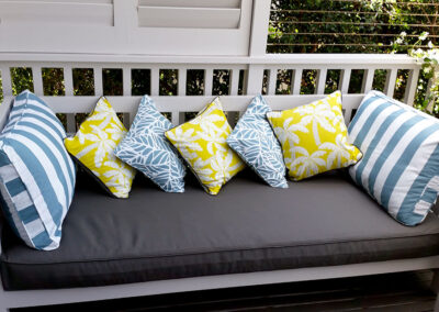 Outdoor Sofa Cover & Scatter Cushions